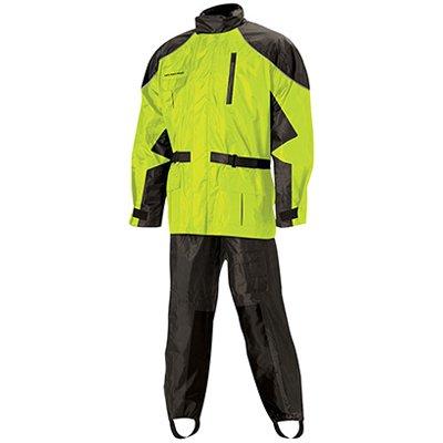 Nelson Rigg AS-3000 BlackHi-Viz Yellow Aston 2-Piece Rain Suit - Medium
