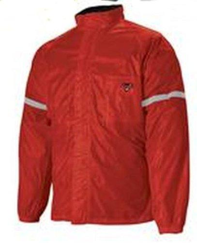 Nelson-Rigg Mens Weatherpro 2-Piece Rain Suit RedMedium