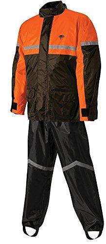 Nelson-Rigg SR-6000 StormRider 2-Piece Rain Suit BlackOrange XX-Large 406-076