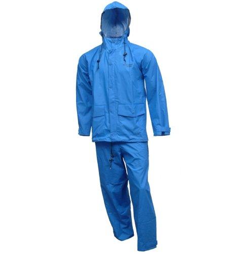 Tingley Rubber S66211 RB Storm Champ 2-Piece Rain Suit Medium Blue
