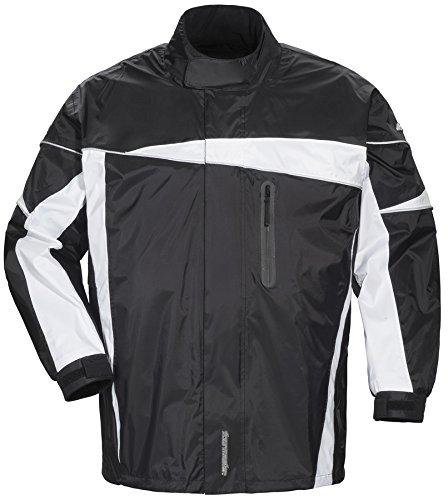 Tourmaster Defender 20 Black Two-Piece Rain Suit size Large