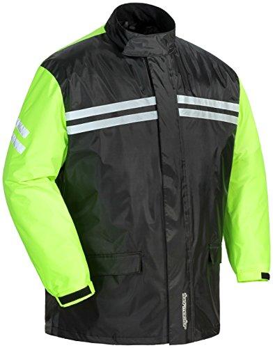 Tourmaster Shield Mens 2-Piece Rain Suit BlackHi-Vis 4XL