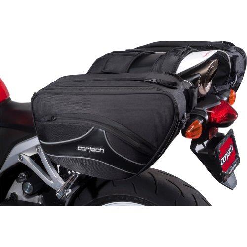"""Cortech Super 20 36-Liter Motorcycle Saddlebag - Black  169""""L x 67""""W x 102""""D"""