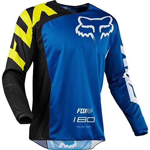 2018 Fox Racing 180 Race Jersey-Blue-L