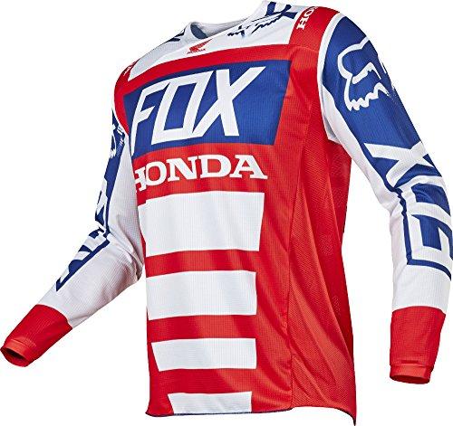 Fox Racing 180 Honda Mens Off-Road Motorcycle Jerseys - RedWhite  X-Large