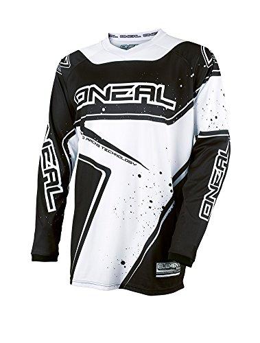 Element Racewear Jersey BlackWhite Medium