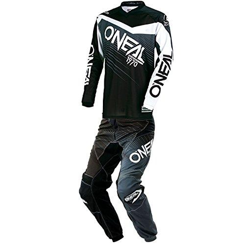 ONeal - Element Racewear Black Gray Jersey Pant Combo - Size MEDIUM 32W