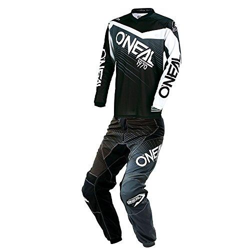 ONeal - Element Racewear Black Grey JerseyPant Combo - Size 3X-LARGE40W