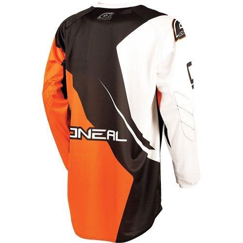 ONeal Racing Element Racewear Mens Off-Road Motorcycle Jersey - BlackOrange  Large