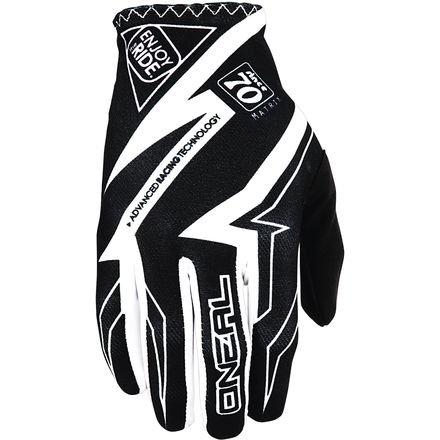 ONeal Youth Matrix Racewear Gloves BlackWhite Size 6Large