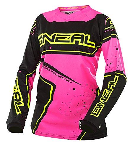 ONeal Yth Element Girls Racewear Jersey BlackPinkHi-Viz Large