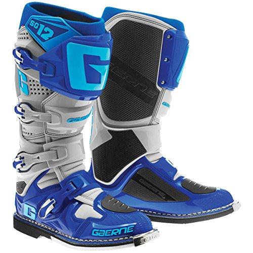 Gaerne 2174-033-010 SG-12 Boots GrayBlue 10
