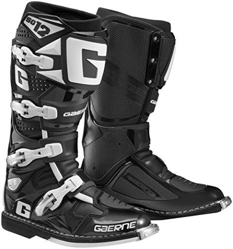 Gaerne SG-12 Boots Primary Color Black Size 12 Distinct Name Black Gender MensUnisex 2174-001-12