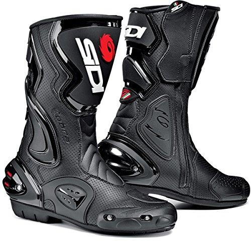 SIDI COBRA AIR MOTORCYCLE BOOTS BLACK SIZE 11  45