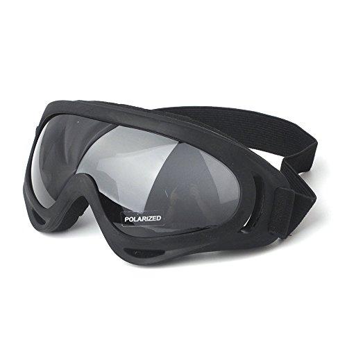 Motorcycle Goggles Bike Eyewear KEMIMOTO Dirt Bike Goggle ATV Off Road Racing Eyewear Polarized UV Protective Outdoor Glasses Dust Proof Bendable with Padded Soft Foam