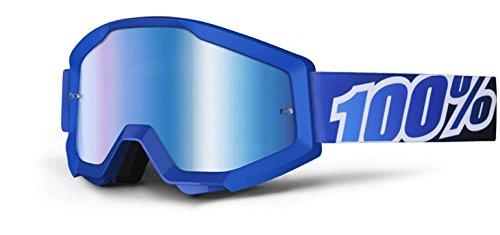 100 Strata Goggles MX Dirtbike Goggles - Blue Lagoon 2601-1512