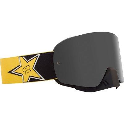 Dragon Alliance Rockstar Adult NFX MotoXOff-RoadDirt Bike Motorcycle Goggles Eyewear - Gold Ionized  One Size Fits All