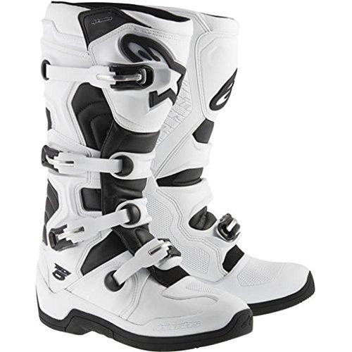 Alpinestars Adult MX Tech 5 Motocross Boots White Size 14