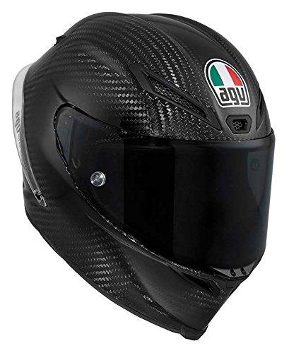 New Agv Pista Full-face Cf Adult Ssl Carbon-fiber Shell Helmet, Black, Small/sm