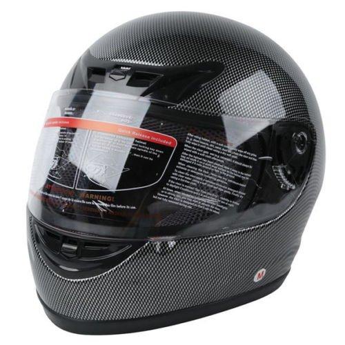 Xfmt Dot Adult Carbon Fiber Flip Up Full Face Motorcycle Helmet S
