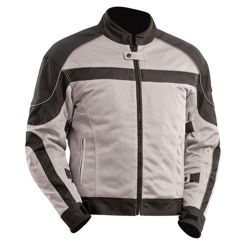 Bilt Techno Mesh Motorcycle Jacket - 2xl, Gray/black