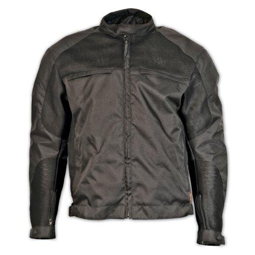 Milwaukee Motorcycle Clothing Company Mesh Scooter Jacket (black, Large)