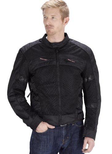 Vikingcycle Ironside Mesh Motorcycle Jacket For Men (l)