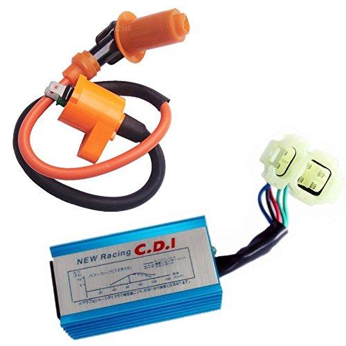 PODOY Performance Cdi Ignition Coil For Honda XR50 XR70 XR70R XR80R XR100 XR100R