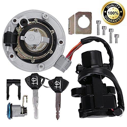 Ignition Switch Gas Petrol Cap Cover Lock Key Set for Suzuki GSXR 600750 2004-2016 GSXR1000 2003-2016