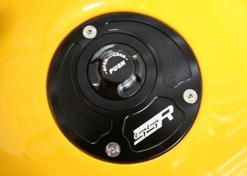 Kawasaki Quick Release Keyless Billet Gas Fuel Petrol Cap Lid ZZR1200 ZZR600 ZX9
