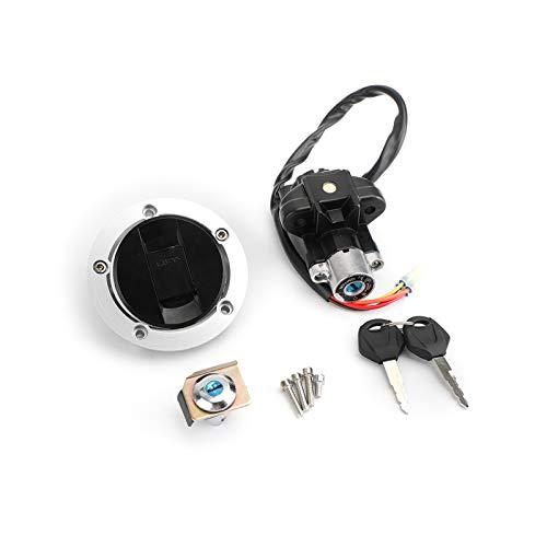 Topteng Motorcycle Ignition Switch Gas Petrol Cap Cover Lock Key Set for Suzuki GSXR1000 GSXR1000Z SV650 SV650A SV650SF SV650S SFV650 SV1000S SV1000