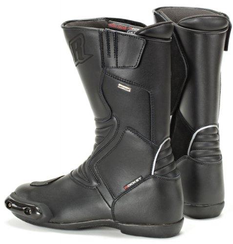 Joe Rocket Sonic R Men's Leather All Season Touring Boots (black, Size 11)