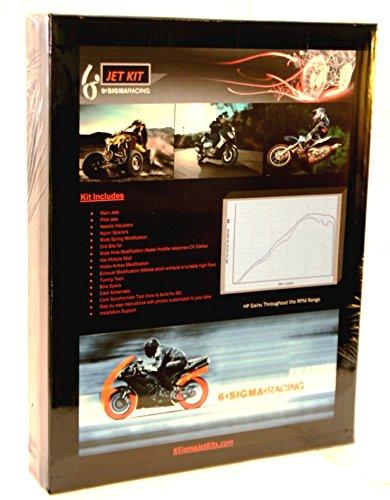 2008-12 Kawasaki Ninja 250R 250 R EX250R EX250 Carburetor Carb Stage 1-7 Jet Kit
