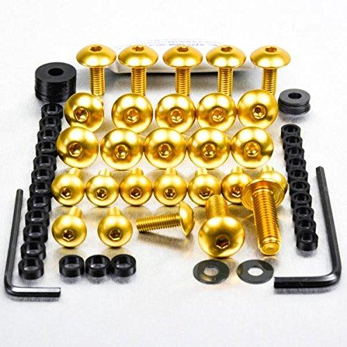 Aluminium Fairing Kit Kawasaki Ninja 250R Gold