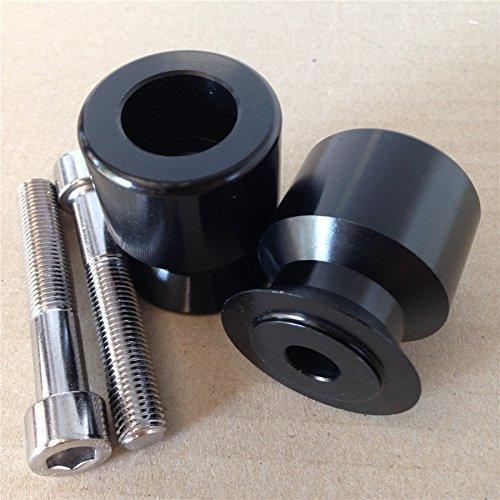 Black Swingarm Spools For Kawasaki Ninja 250R 650R Zx 6R 9R 10R 12R 14R Z1000