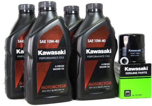 2012 Kawasaki Z1000 Oil Change Kit