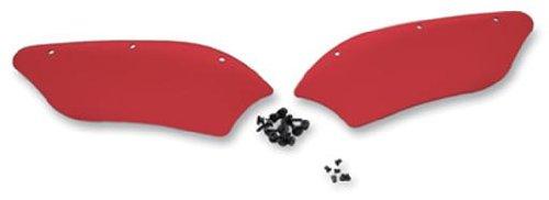 Memphis Shades Batwing Fairing Ruby Wind Deflectors