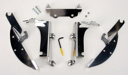 Memphis Shades Batwing Mount Kit Aluminum for Kawasaki VN800 VN1500