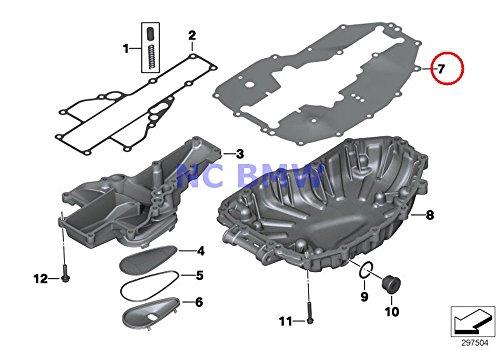 BMW Genuine Motorcycle Oil Pan Oil Pan Gasket F700GS F650GS F800GS F800GS Adventure