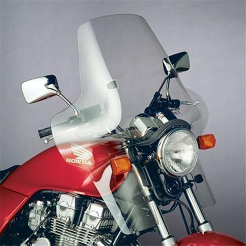 National Cycle Plexifairing 3 205 x 305 Clear ea for Honda and Suzuki Metric Cruisers 55-2964
