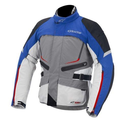 2014 Alpinestars Valparaiso Drystar Motorcycle Jackets - Blue - X-large