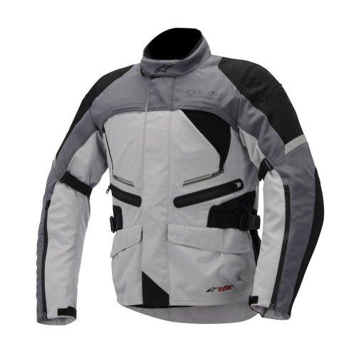 2014 Alpinestars Valparaiso Drystar Motorcycle Jackets - Gray - X-large