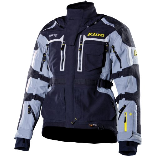 Klim Adventure Rally V2 Men's Motocross Motorcycle Jackets - Gray / Large
