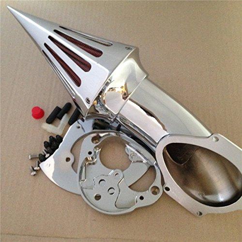XKH Group Motorcycle Chrome Air Cleaner Kits Intake For Kawasaki Vulcan 1500 1600 Classic 2000 2012 new