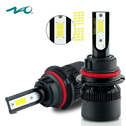 9007 LED Headlight BulbNAO Car LED Headlights Conversion Kit60W 6400LM 6K- 2 Yr Warranty