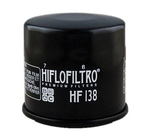 Hiflofiltro HF138 Black Premium Oil Filter