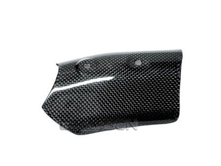 2007 - 2012 Ducati 1198 1098 848 Carbon Fiber Upper Heat Shield