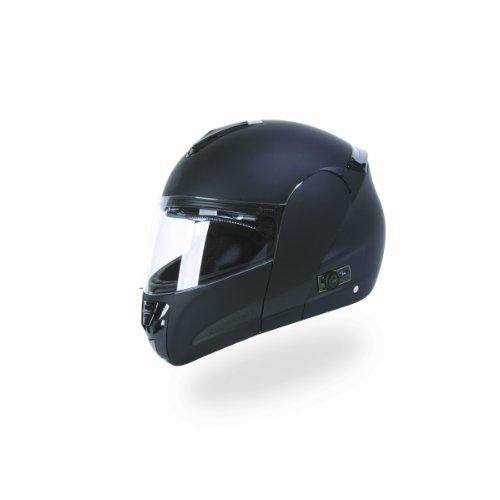 Torc T22b Interstate Modular Helmet With Blinc 2.0 Stereo Bluetooth Technology (flat Black, X-small)