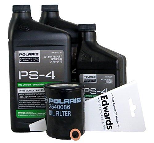 2017 POLARIS RZR XP 1000 RZR S 1000 OIL CHANGE KIT