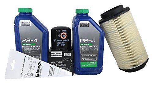 2008-2014 Sportsman 400 Ho 4X4 Genuine Polaris Oil Change and Air Filter Kit